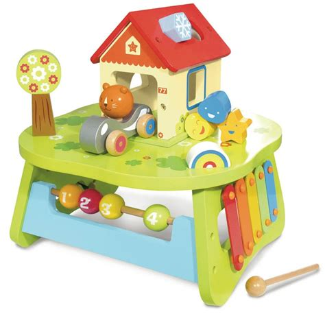 baby activity table wooden wooden activity table baby m pinterest