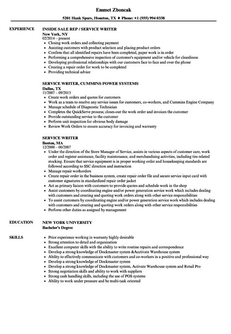 Auto Resume Writer by Service Writer Description For Resume How To Write A