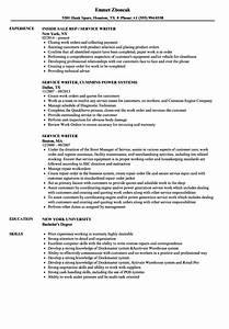 service writer resume samples velvet jobs With express resume service