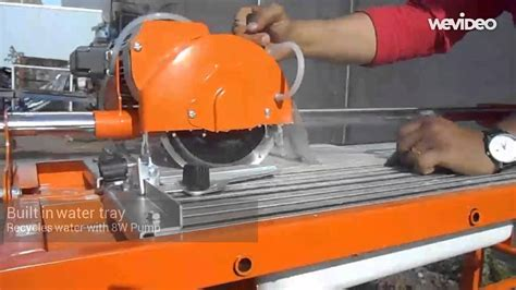 800w 7 quot electric tile stone saw 40cm cutter w water pump
