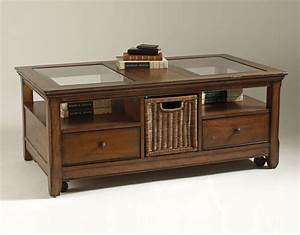 glass top coffee table with storage With coffee tables that have storage
