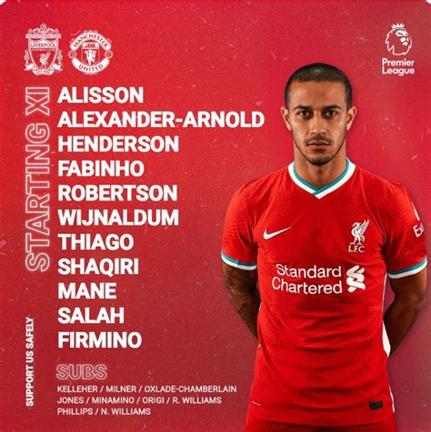 Liverpool Player Ratings vs Man U: Do Reds go top of table ...