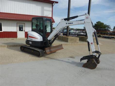 bobcat  mini excavator  sale full cab  speed hydr thumb  hours  sale  united