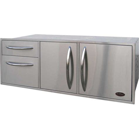 stainless steel kitchen storage cabinets cal flame outdoor kitchen stainless steel complete utility