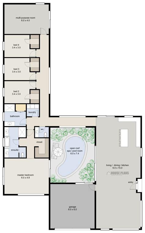 Zen Lifestyle 6, 4 Bedroom - HOUSE PLANS NEW ZEALAND LTD