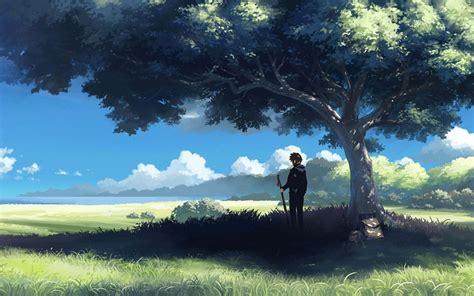 Anime Scenery Wallpaper - anime landschaft tapeten hd