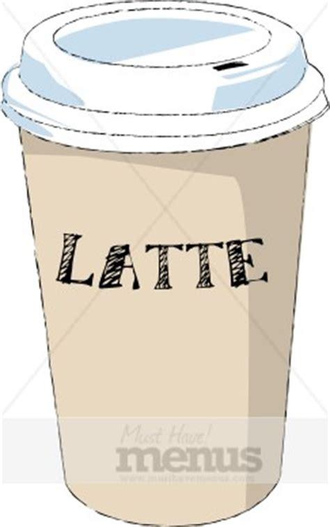 Latte Clip Art   Coffee Clipart