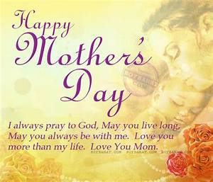 Happy Mothers Day Quotes and Sayings Collection ~ Boy Banat