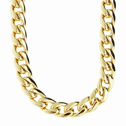 Chain Bling Gold Cuban Iced 10mm Cmd