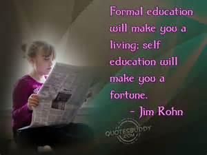 Jim Rohn Education Quotes