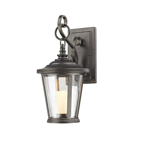 home decorators collection rubbed bronze led small