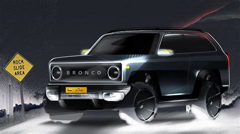 ford bronco  ridiculous rendering   wait