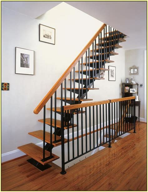Home Depot Hexagon Marble Tile by Staircase Railing Ideas Home Design Ideas