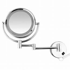 Miroir Mural Pas Cher : miroir grossissant mural achat vente miroir grossissant mural pas cher cdiscount ~ Teatrodelosmanantiales.com Idées de Décoration