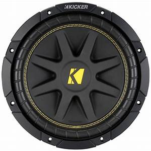 Kicker C12d4 Comp Series 12 U0026quot  Dvc Subwoofer 4 4 Ohm