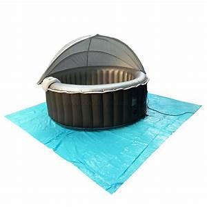 Tapis De Sol En Pvc : tapis de sol protecteur en pvc pour spa gonflable spas ~ Zukunftsfamilie.com Idées de Décoration