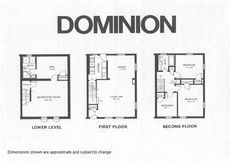 dominion homes floor plans  home plans design