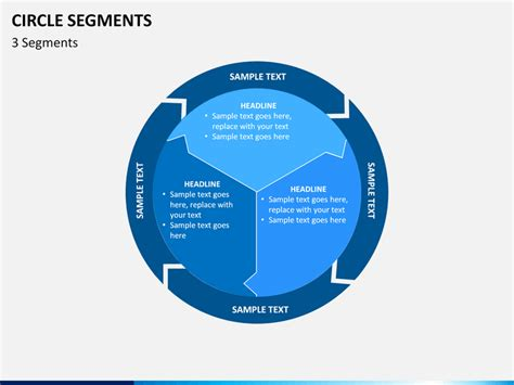 circle segments diagram powerpoint sketchbubble