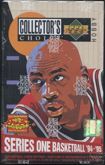 1994 95 upper deck collector s choice series 1 basketball