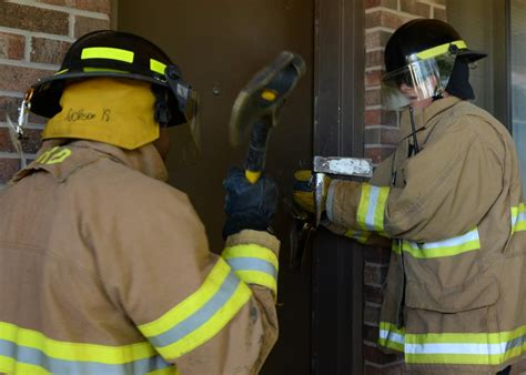 dvids images firefighters forcible entry exercise