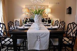 Easter Table Setting - Asian - dining room - Benjamin