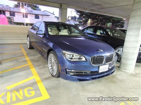 Bmw Alpina B7 Spotted In Monterey, California On 08172012