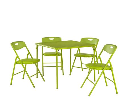 cosco childrens folding table and chairs cosco products 5 pc folding table and chair set black