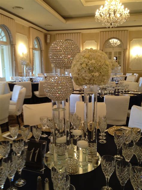 crystal ball centerpiece wedding decor ideas wedding