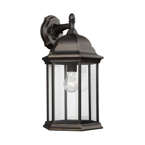 sea gull lighting sevier 1 light antique bronze outdoor