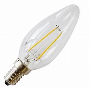 Filament Led E14 : led bulb 4w e14 filament candle 4500k ~ Markanthonyermac.com Haus und Dekorationen