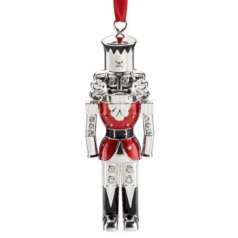 lenox nutcracker silver ornament silver superstore