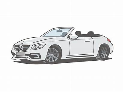 Sports Cars Illustration Colors Dribbble Silver