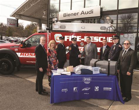 Biener Audi by Biener Audi Donates Lifesaving Cpr Unit To Roslyn