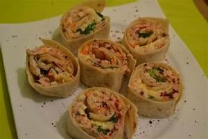 Recette Avec Tortillas Wraps : recette fajitas wrap thon surimi 750g ~ Melissatoandfro.com Idées de Décoration