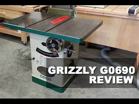 grizzly cabinet saw review the grizzly g0690 table saw cabinet saw review 2017