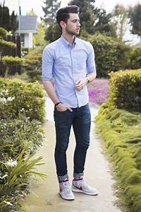 Not usually a huge fan of skinny jeans on men... But the shoes make the whole thing work | mens ...