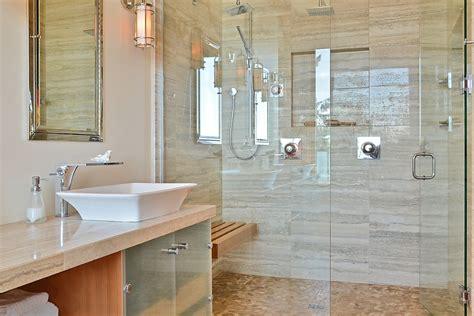bathroom bench ideas teak shower bench bathroom traditional with sacks tile