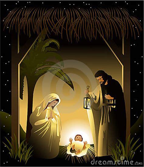 christmas nativity scene  holy family royalty