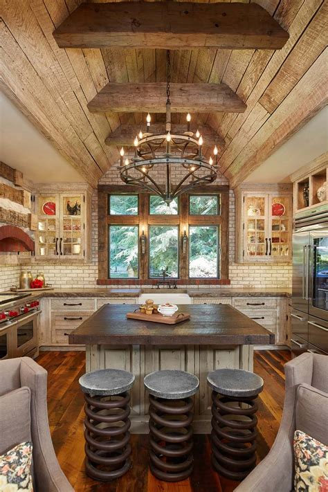 rustic home interior 45 most pinteresting kitchens featured on 1 kindesign for 2016