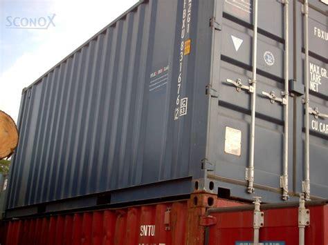 seefracht container preise 20 seecontainer high cube gebraucht iso sconox gmbh b 252 rocontainer preise