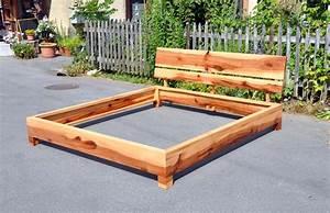 Rückenlehne Für Bett : bett aus apfelholz mit r cklehne schreinerei holzlabor bern ~ Michelbontemps.com Haus und Dekorationen