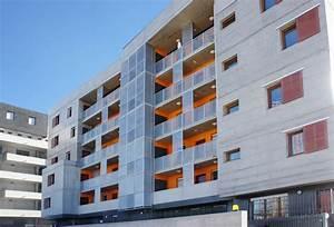 Agence Architecture Montpellier : r sidence albert jacquard montpellier 34 cabinet d 39 architecture patrice genet montpellier ~ Melissatoandfro.com Idées de Décoration