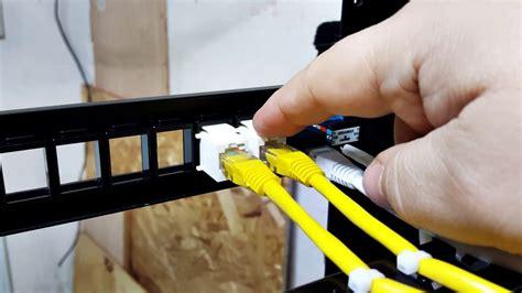 working  keystone patch panels youtube