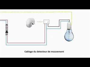 Branchement Detecteur De Mouvement : schema branchement cablage d tecteur de mouvement doovi ~ Dailycaller-alerts.com Idées de Décoration