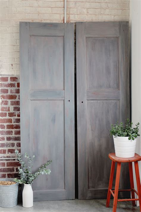 Gray Barn by Creating The Look Of Vintage Gray Barn Wood Doors A