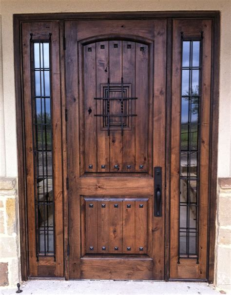 rustic wood door  panel vgroove madrid speakeasy