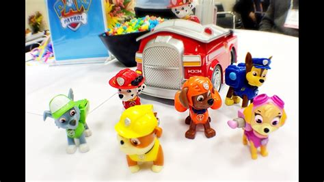 paw patrol toys  spinmaster  toyqueencom youtube