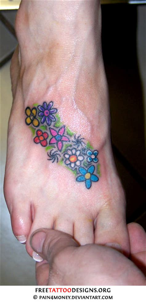 foot tattoo gallery