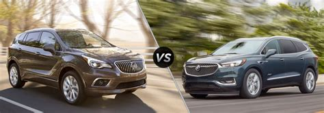 buick envision   buick enclave