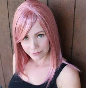 Manic Panic Cotton Candy Pink On Unbleached Hair   www ...